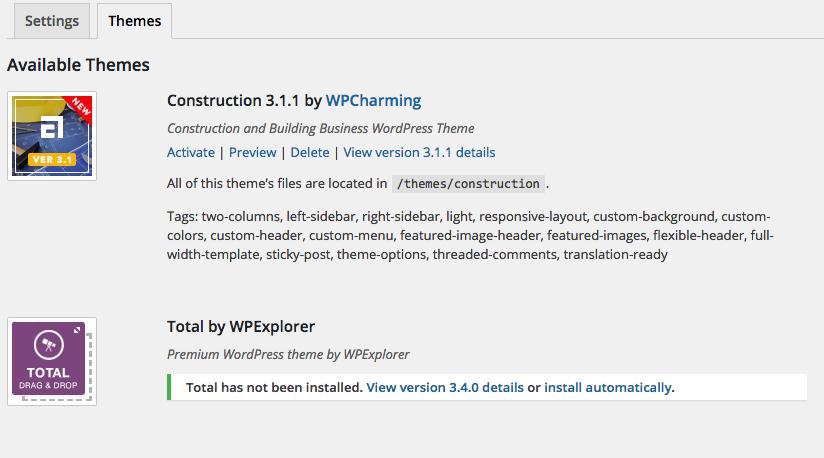 How do I update my ThemeForest theme? - WPCharming
